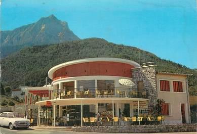 "/ CPSM FRANCE 05 ""Savines Le Lac, restaurant La Rotonde"""