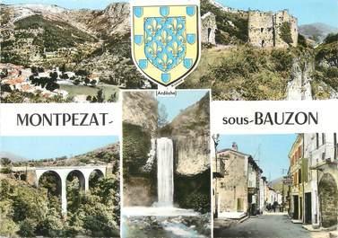 """/ CPSM FRANCE 07 """"Montpezat sous Bauzon"""""""