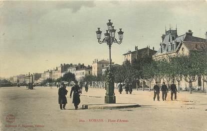 """CPA FRANCE 26 """"Romans, Place d'Armes"""""""
