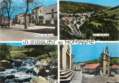 "/ CPSM FRANCE 07 ""Saint Cirgues en Montagne"""