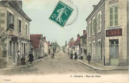 "CPA FRANCE 36 ""Chabris, rue du Pont"""
