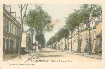 """CPA FRANCE 36 """"Chateauroux, Bld Georges Sand"""""""