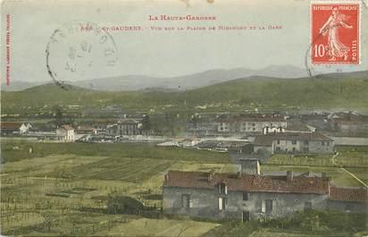"""CPA FRANCE 31 """"Saint Gaudens, vue sur la plaine de Miramont et la gare"""""""