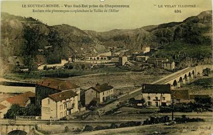 """CPA FRANCE 43 """"Chapeauroux, vue sud est"""""""