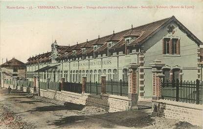 """CPA FRANCE 43 """"Yssingeaux, usine de tissage électro mécanique"""""""