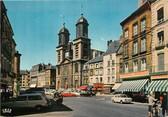"""08 Ardenne CPSM FRANCE 08 """"Sedan, église Saint Charles"""" et place d'Armes"""""""