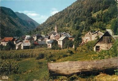 """CPSM FRANCE 09 """"Aulus, vue générale sur la vallée d'Erce"""""""
