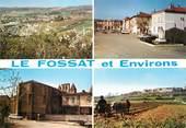 """09 Ariege CPSM FRANCE 09 """"Le Fossat et ses environs"""""""