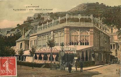 "CPA FRANCE 63 ""Royat les Bains, le Kursaal"""