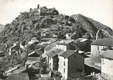 """CPSM FRANCE 09 """"Environs de Luzenac, château et village de Lordat"""""""