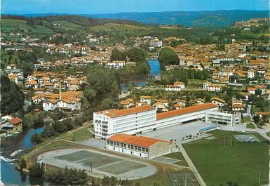 """CPSM FRANCE 09 """"Saint Girons, le lycée"""""""