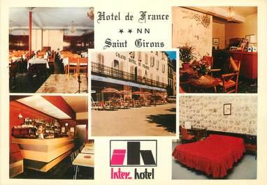 """CPSM FRANCE 09 """"Saint Girons, hôtel de France"""""""