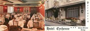 """09 Ariege CPSM FRANCE 09 """"Saint Girons, hôtel Enchenne"""" / LIVRET"""