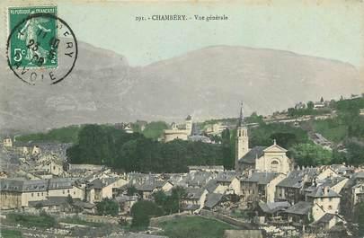 "CPA FRANCE 73 ""Chambéry, vue générale"""
