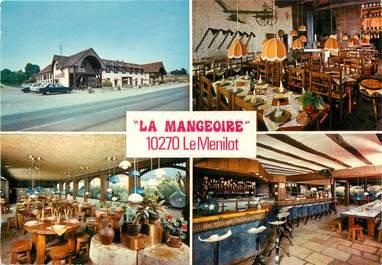 """CPSM FRANCE 10 """"Le Menilot, la Mangeoire, restaurant"""""""
