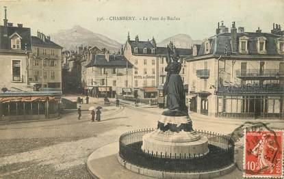 """CPA FRANCE 73 """"Chambéry, le Pont du Reclus"""""""
