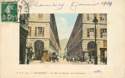 "CPA FRANCE 73 ""Chambéry, rue de Boigne"""