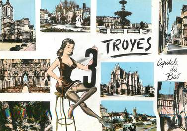 """CPSM FRANCE 10 """"Troyes """""""