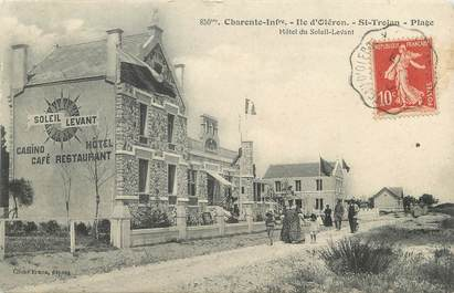 """CPA FRANCE 17 """"Saint Trojan, Ile d'Oléron, plage"""""""