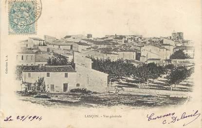 """CPA FRANCE 13 """"Lançon, vue générale"""""""