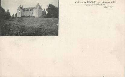 """CPA FRANCE 72 """"Château de Forsac"""""""