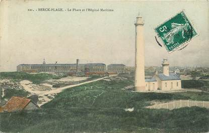 "CPA FRANCE 62 ""Berck Plage, le Phare"""