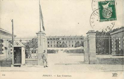 "/ CPA FRANCE 89 ""Joigny, les casernes"""
