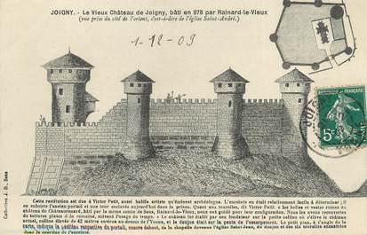 "/ CPA FRANCE 89 ""Joigny, le vieux château"""