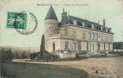 """CPA FRANCE 60 """"Montjavoult, Chateau du Bout du Bois"""""""