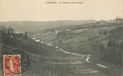 """/ CPA FRANCE 89 """"Tonnerre, la vallée de Chamboudan"""""""
