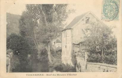 """/ CPA FRANCE 89 """"Tonnerre, bief du moulin d'enfer"""""""