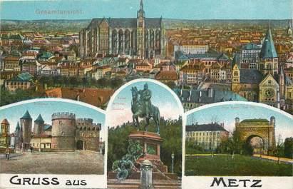 """CPA FRANCE 57 """"Metz"""" / Vues de la commune"""