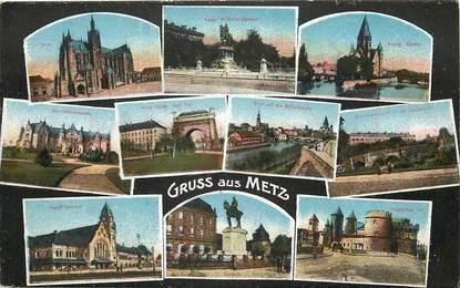 """CPA FRANCE 57 """"Metz"""" / Vues de la ville"""