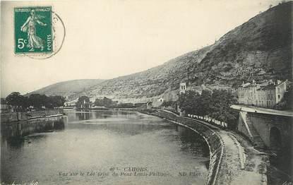"""/ CPA FRANCE 46 """"Cahors, vue sur le lot"""""""