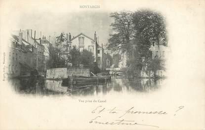 """/ CPA FRANCE 45 """"Montargis, vue prise du canal"""""""