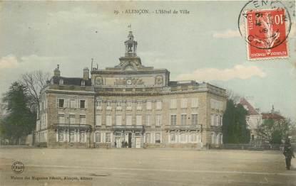 """CPA FRANCE 61 """"Alençon, l'Hotel de ville"""""""