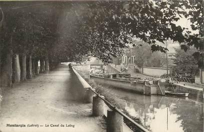 """/ CPA FRANCE 45 """"Montargis, le canal du loing"""""""