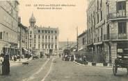 """43 Haute Loire CPA FRANCE 43 """"Le Puy en Velay, Bld Saint Jean"""""""