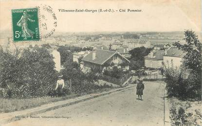 cpa france 94 villeneuve saint georges cit pommier 94 val de marne autres communes 94. Black Bedroom Furniture Sets. Home Design Ideas
