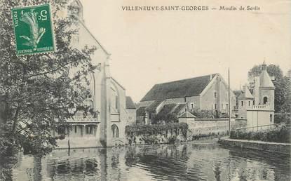 """/ CPA FRANCE 94 """"Villeneuve Saint Georges, moulin de Senlis"""""""