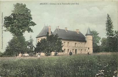 """CPA FRANCE 58 """"Arleuf, Chateau de la Tournelle"""""""
