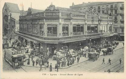 """/ CPA FRANCE 69 """"Lyon, grand bazar de Lyon"""""""