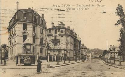 """/ CPA FRANCE 69 """"Lyon, boulevard des Belges"""""""