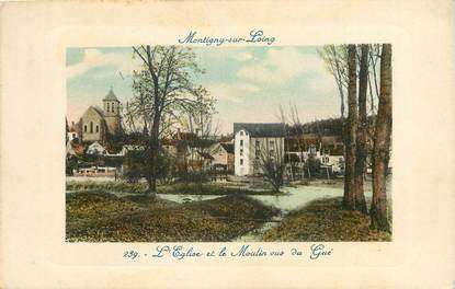 """CPA FRANCE 77 """"Montigny sur Loing"""""""