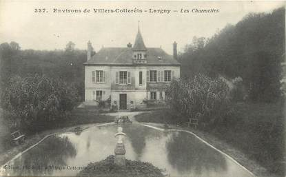 "/ CPA FRANCE 02 ""Largny, environs de Villers Cotterêts, les Charlettes"""