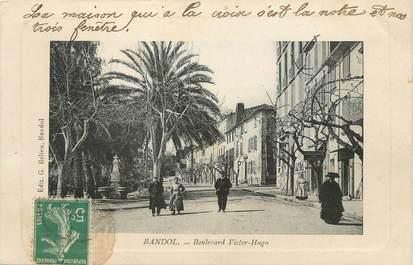 "/ CPA FRANCE 83 ""Bandol, Bld Victor Hugo"""