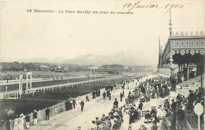 """/ CPA FRANCE 13 """"Marseille, le parc Borély un jeu de courses"""""""