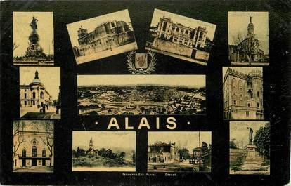 """CPA FRANCE 30 """"Alais"""" / Vues de la ville"""