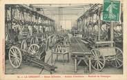 """71 SaÔne Et Loire / CPA FRANCE 71 """"Le Creusot, usines Schneider, Atelier d'Artillerie"""""""
