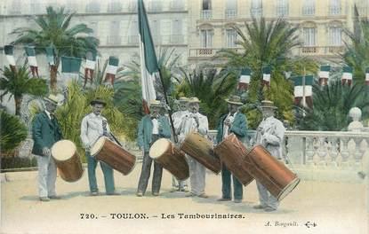 "/ CPA FRANCE 83 ""Toulon, les tambourinaires """
